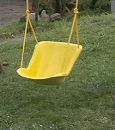 Fibreglass bucket seat made for our Jungle gym swing sets. We make any color! Wendy House, Swing Sets, Jungle Gym, Bucket Seats, Yard, Fun, Kids, Outdoor, Color