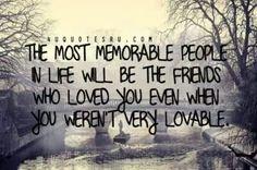 Even when u weren't lovable