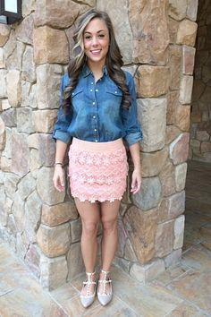Anne Crochet Skirt - Catch Bliss Boutique