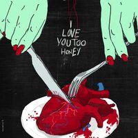 The Weird Love é uma série de ilustrações que pretende retratar o amor de forma mais realista. Nesse excelente trabalho, do designer gráfico italiano Francesco Tortorella, as mãos dadas, carinhos, flores e corações dão lugar a cenas de sexo, obsessão e ódio.