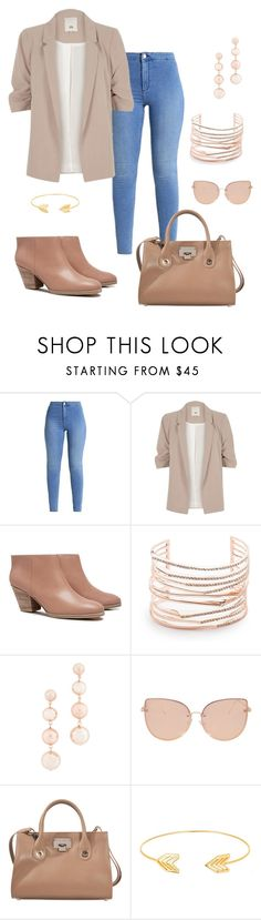 """Untitled #309"" by ntone3 ❤ liked on Polyvore featuring River Island, Rachel Comey, Alexis Bittar, Rebecca Minkoff, Topshop, Jimmy Choo and Lord & Taylor"