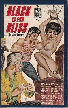 Black Is For Bliss by Lana Preston (Gene Bilbrew cover)