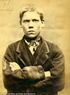 Fagin's children: Mugshots of Victorian thieves as young as 11 who were sentenced to hard labour for stealing clothes and metal Life of crime: John Reed, was given two weeks hard labour and five years reformation for stealing money in Jane Farrel John Taylor, Vintage Photographs, Vintage Photos, Criminal Shows, Reformation Day, Kids Stealing, Life Of Crime, Henry Miller, Portraits