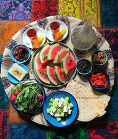 Light #Persian #Iftar feast for hot days  realiran.org