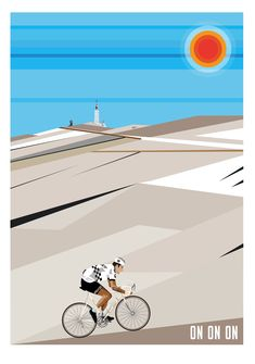 Velostrator on Behance Bicycle Art, Bicycle Design, Cycling Art, Cycling Bikes, Gig Poster, Circuit Velo, Bicycle Illustration, Alpe D Huez, Sports Graphics
