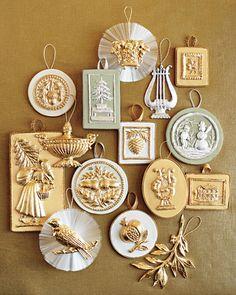Metallic and Spun-Glass Ornaments