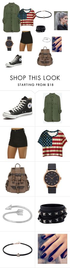 """""""style3"""" by angie-9600 on Polyvore featuring Converse, Zara, Wrangler, Wilsons Leather, Marc by Marc Jacobs, Valentino i Lottie"""