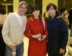 David Cross, Zooey Deschanel and Jason Schwartzman