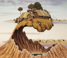 Jacek Yerka - painter 1