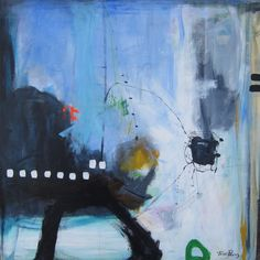 abstract paintings by Trine Panum
