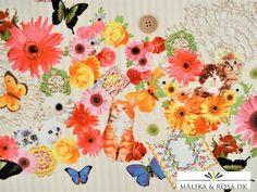 Malika og Rosa - metervarer stof og tekstiler til håndarbejde