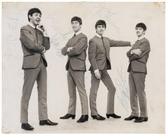 Beatles Signed Photograph