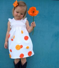 Sewing tutorial for girls summer dress