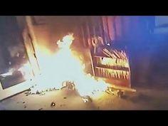 Police Subdue Arsonist - YouTube
