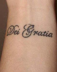 grace of god ~ Dei Gratia
