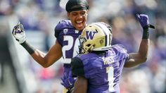 Jake Browning threw for 287 yards and three touchdowns, John Ross caught two…
