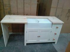 Solid Pine Belfast Sink Base Unit Appliance Housing