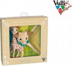 Vulli Sophie Giraffe Supercomforter Set Very soft comforter. Knots to on four corner to grap easily and chew. Very light with gentle colors. Sophie Giraffe, Baby Sense, Welcome Baby, Baby Games, Baby Online, Baby Boutique, Toddler Toys, Teddy Bear, Activities