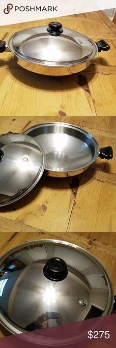 "Saladmaster.....15"" Wok Excellent condition...only used a few times Saladmaster  Other"