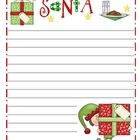 Holiday Writing Paper with Lines.  I tried to make doubles and take off the writing so you can add your own writing.  Perfect Christmas writing for...