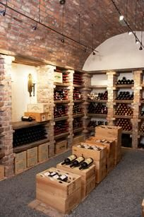 ATLANTA Home Trends: Wine cellars are a popular new trend in Atlanta homes, some include a wet bar and seating area.. idc if i am in alt i still want one
