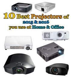 Guide you how to buys cheap and affordable HD projectors. Find the 10 best projectors of 2015 and 2016 you use at Home and Office in UK/USA.
