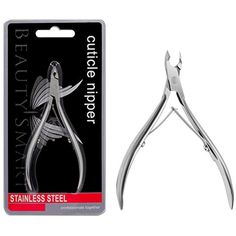 Beauty Samrt Professional Nail Stainless Cuticle nipper Nail Clippers Nail Cleaner Nail Care (silver) -- Want to know more, click on the image. (This is an affiliate link and I receive a commission for the sales) #ToolsAccessories