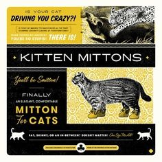 """Kitten Mittons from """"It's Always Sunny In Philadelphia"""""""