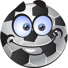 Soccer Ball Smiley Face