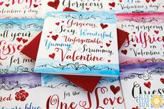 Quintessential Valentine Cards by Blue Eyed Sun