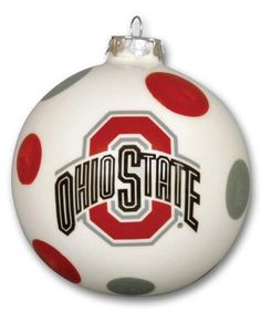Another great find on #zulily! Ohio State Buckeyes Holiday Ornament #zulilyfinds