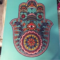 HAMSA Earthbound painting Canvas Other