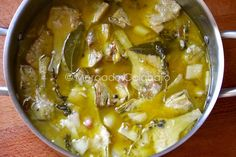 Alcachofas en escabeche, un bocado exquisito. Receta - Mercado Calabajío Vegan Vegetarian, Vegetarian Recipes, Healthy Recipes, Brie, Quick Refrigerator Pickles, Diabetic Menu, Spanish Dishes, Batch Cooking, Latin Food