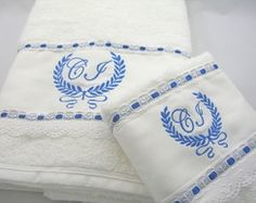 Toalha 2 Banho e 1 Rosto Coroa I
