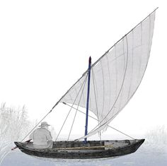 Barca Albufera, vela llatina / Vela latina