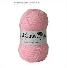 Kiddies Supersoft Double Knit Yarn 100% Acrylic Pink Knitting Wool By Cygnet 5037171409795 on eBid United Kingdom £1.60
