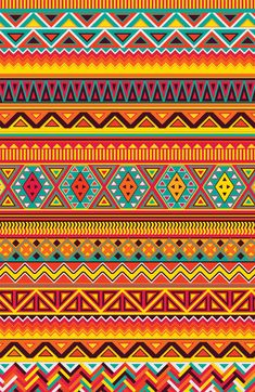 Aztec Pattern  by Maximilian San