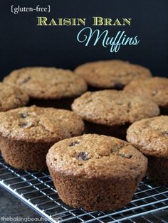 Never miss your morning bran muffin again by baking a batch of these gluten free Raisin Bran Muffins. Perfect with a cup of coffee, or to pack in your lunch.