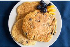 Lemon Blueberry Pancakes   Bodybuilding.com - 20 Best Healthy Protein Pancake Recipes