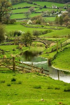 Lyth Valley, Lake District, Cumbria, England by flock of ghosts ""