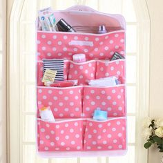 Multi-Functional Dot Wall Storage Bag by Baby in Motion