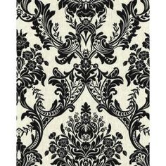 Graham & Brown Province White Wallpaper is easy to hang and provides a tactile finish. Perfect choice for kitchen and bathroom. B&w Wallpaper, Wallpaper Online, Textured Wallpaper, Pattern Wallpaper, Wall Appliques, Black And White Wallpaper, Black White, Ornamental Mouldings, Graham Brown