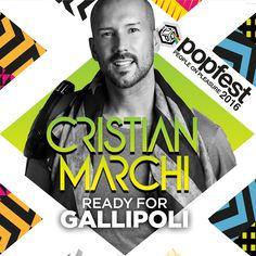 CRISTIAN MARCHI IS READY FOR Popfest - People on Pleasure  Il famoso dj italiano vi aspetta questa estate a Gallipoli  #popfestitaly #popfest #gallipoli #summer #2016 #cristianmarchi —