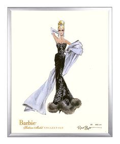 Love this Autographed 'Stolen Magic' Limited Edition Framed Barbie Print on #zulily! #zulilyfinds