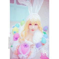 regram @dollycosplay Easter Bunny  Original Character  CN: Ely  Instagram: @eeelyeee               #dollycosplay  #anime #manga #cosplay #likeforlike #like4like #originalcharacter #instasize #pretty #cute #kawaii #photooftheday #easterbunny #ely by aprende3d