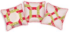 Woven Braid Patchwork Pillow | Sew4Home