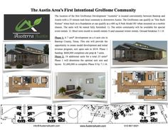 Austerra Austin - (Grohome Village East) Tiny homes growing into the Austin community.