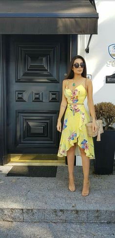 Gorgeous Short Dresses Ideas For Women Summer Fashion Outfits, Chic Outfits, Dress Outfits, Casual Dresses, Short Dresses, Fashion Dresses, Summer Dresses, Wrap Dresses, Frack