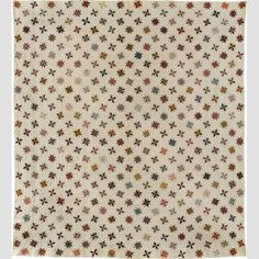 Stars Quilt Unidentified member of the Hemiup Family 1860-1900