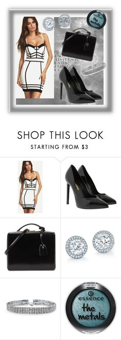 """""""Untitled #207"""" by fashion-style-tv ❤ liked on Polyvore featuring Yves Saint Laurent, Mark Cross and Bling Jewelry"""